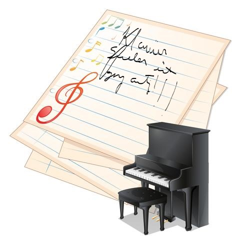 Inkedan-empty-paper-with-musical-notes-beside-a-piano-vector_LI